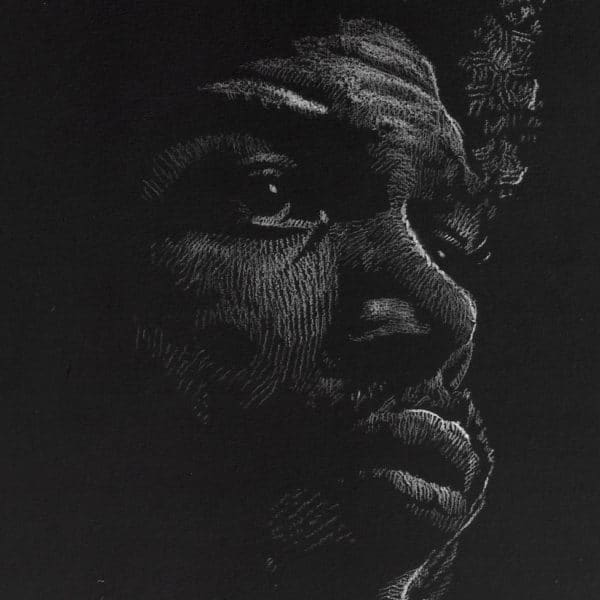 Gil-Scott Heron - Fine Art Print (Gliceé)