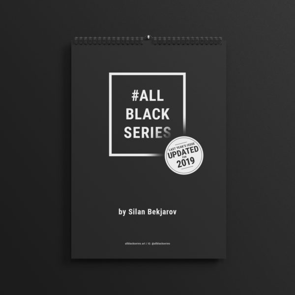 Last year's #AllBlackSeries calendar updated for 2019.